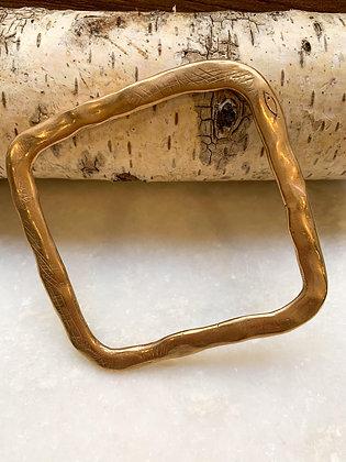 Pesci Che Volano Bronze Bangle