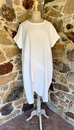 Moyuru White Dress