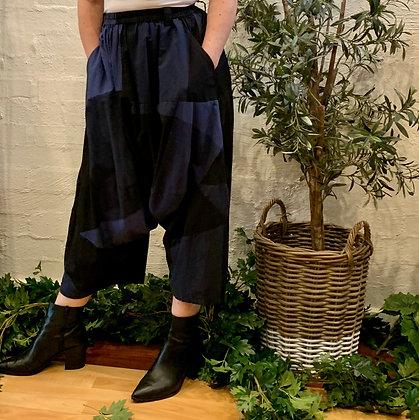 Moyuru Blue/Black Check Pants