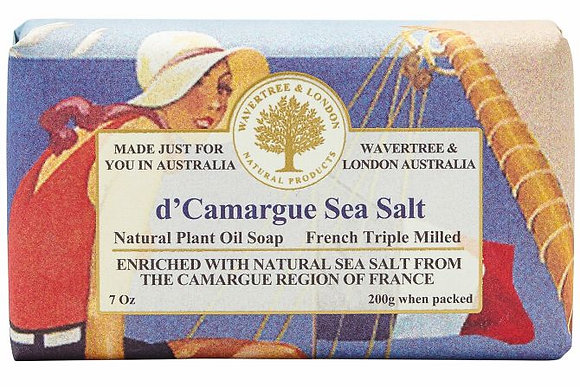 Wavertree & London Soap - d'Camargue Sea Salt