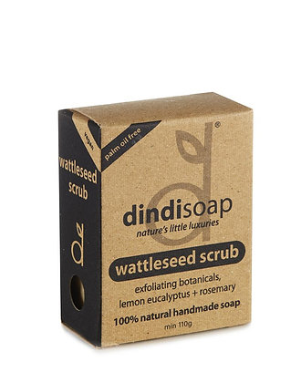 Dindi Wattleseed Soap - Boxed