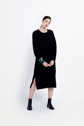ELK Galaxy Black Dress