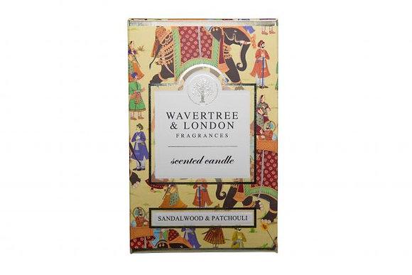 Wavertree & London Candle - Sandalwood & Patchouli