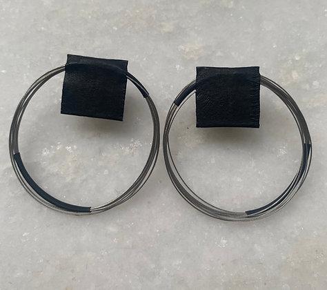 Marija Bajovska multi-wire looped earrings