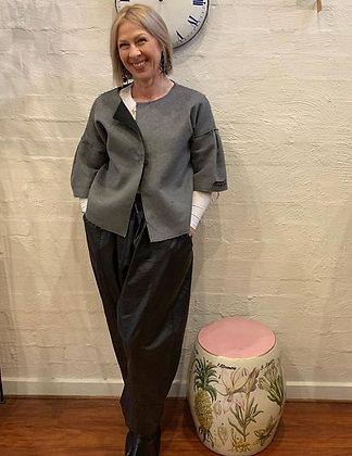 Kimberley Tonkin Grey Wool Vest