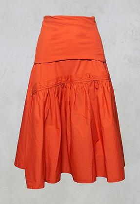 Rundholz Black Label A-Line Midi Skirt