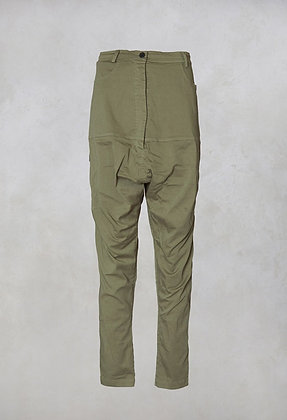 Rundholz Drop Crutch Cargo Trousers