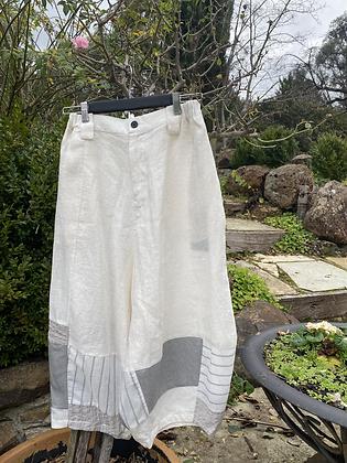 Moyuru White Pants