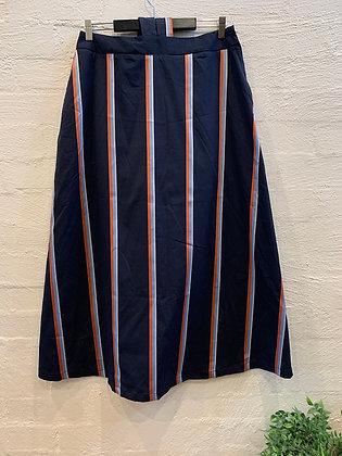 M A Dainty Sunrise Stripe Skirt