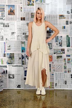 M A Dainty Post Silk Skirt