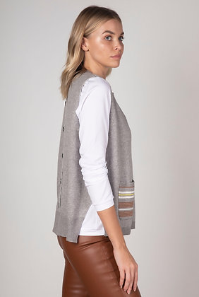 Zaket & Plover Back Button Vest