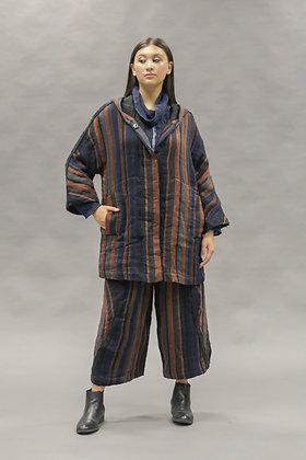 Kimberly Tonkin HARRISON Stripe Coat