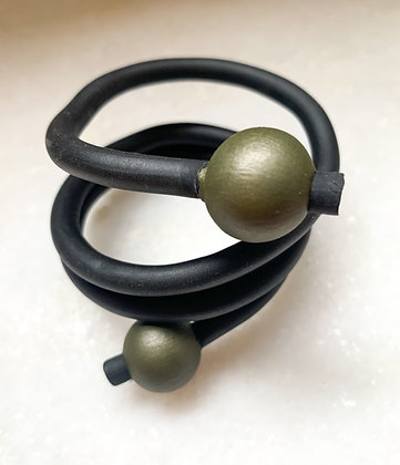 """We Too Are One """"Sahra"""" Bead Feature Wrap Cuff"""