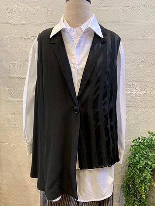 M A Dainty Black Vest