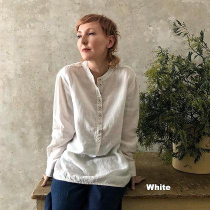 Manteau Noir Thales Linen Shirt