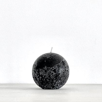 SPHERE CANDLE - BLACK - L (10CM)