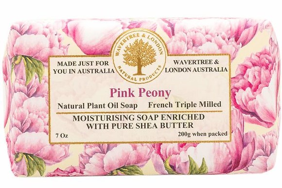 Wavertree & London Soap - Pink Peony