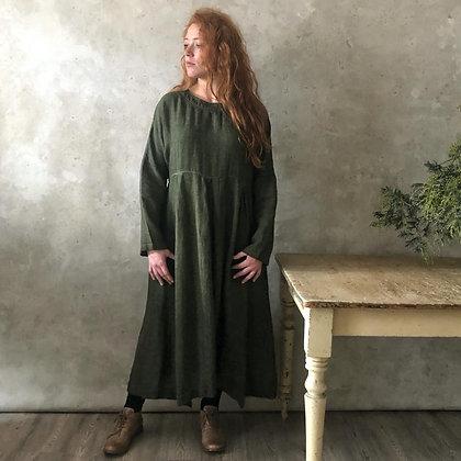 Manteau Noir Albertine Dress - Olive