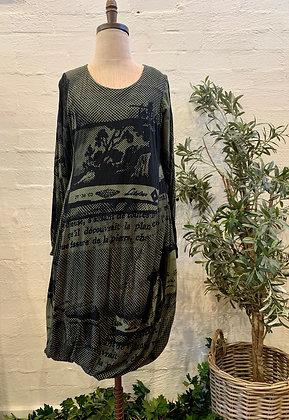 Rundholz Vert Print Dress