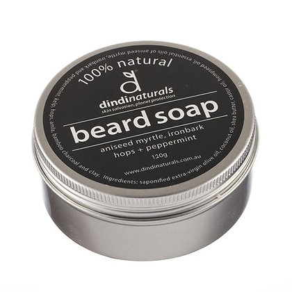Dindi Beard Soap (tinned)
