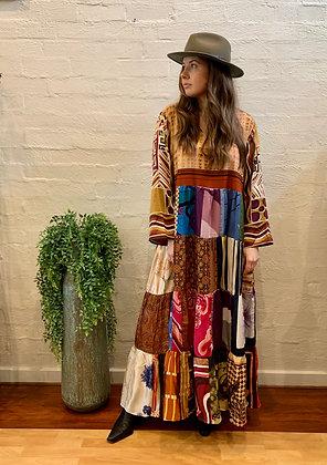 M A Dainty Vintage Scarf Dress
