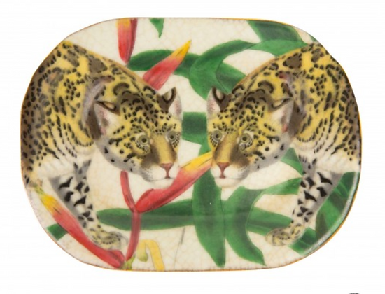 Oriente Savon Dish - Jaguar