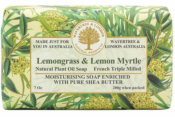 Wavertree & London Soap -Lemongrass & Lemon Myrtle