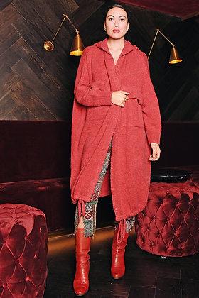 M A Dainty Quads Knit Cardigan