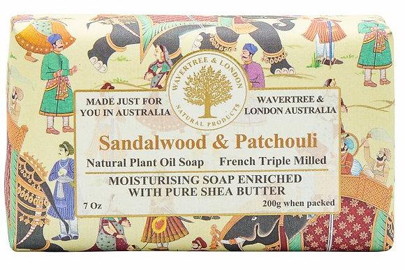 Wavertree & London Soap - Sandalwood & Patchouli