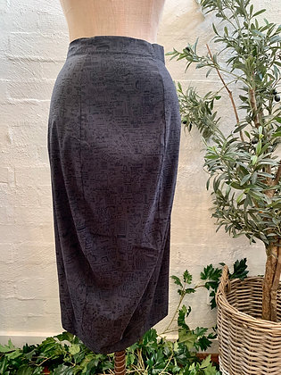 Rundholz Grey Print Skirt