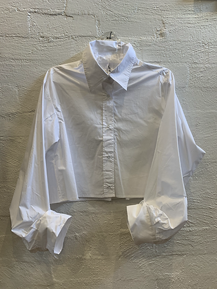 M A Dainty Cropped Shirt
