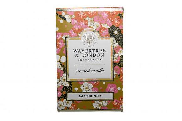 Wavertree & London Candle - Japanese Plum