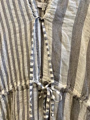 Estilo Emporio Stripe Jumpsuit