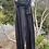 Thumbnail: Banana Blue Wide Full Length Linen Trouser