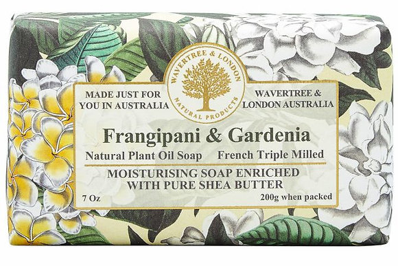 Wavertree & London Soap - Frangipani & Gardenia