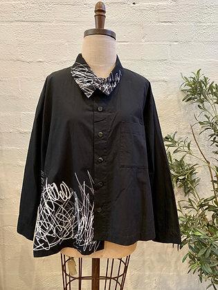 Moyuru Printed Shirt