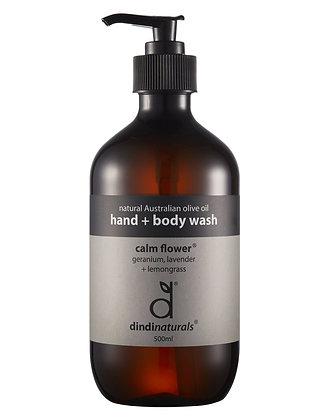 Dindi Hand + Body Wash Calm Flower