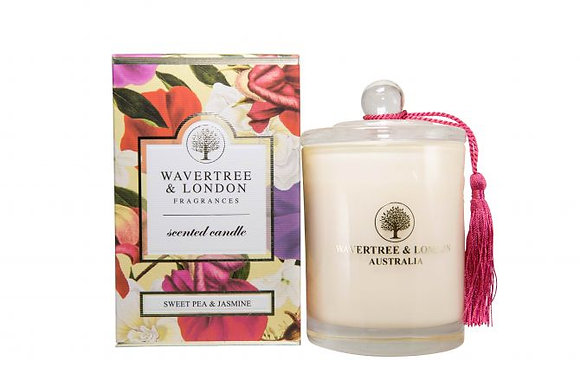 Wavertree & London Candle -Sweet Pea