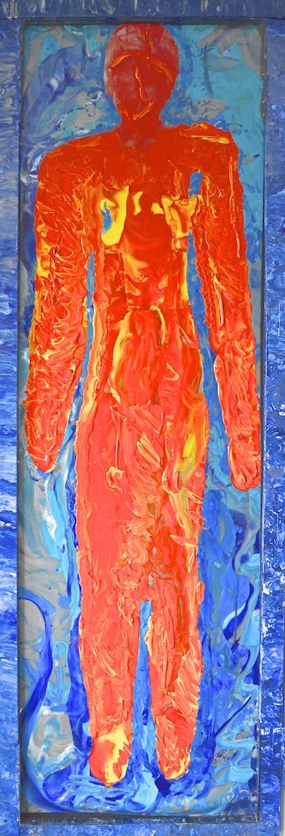 Figure Painting - Back