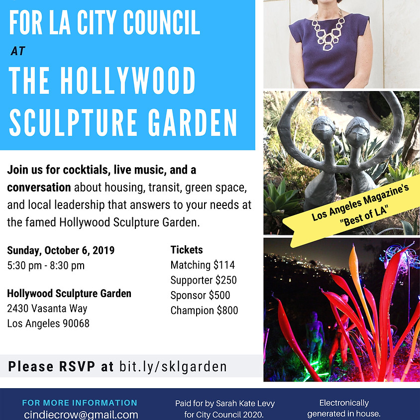 Sarah Kate Levy City Council Fundraiser