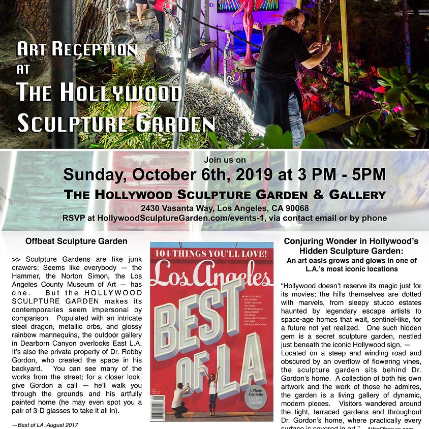 October 6th Art Reception