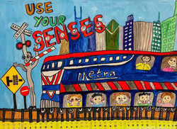 2nd Prize Metra Art Contest