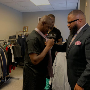 How 100 suits for 100 men Black Founder is helping New York Residents