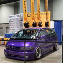 Spotlight: Morris' Purple Previa at Otakon DC 2019