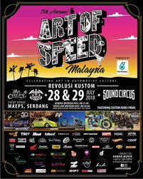 Art of Speed, Malaysia 2018