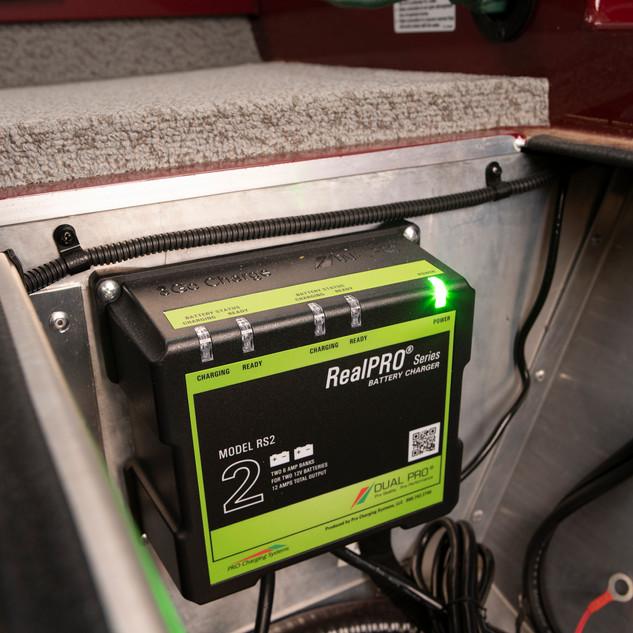 Sportsman 1710 PFX On Board Battery Char