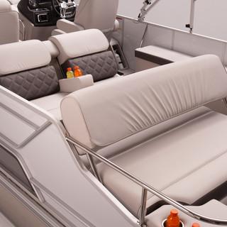 SunCatcher Elite 326 SL Stern Seating Fa