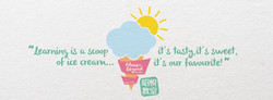 Learning is a Scoop of Ice Cream