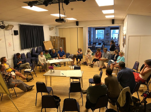 Second community meeting held in Solva Memorial Hall