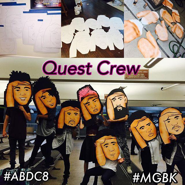 ABDC8 Quest Crew Heads